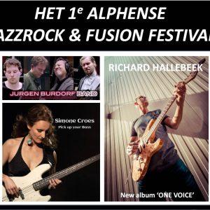 Serious Music Alphen Jazzrock Fusion met Simone Croes