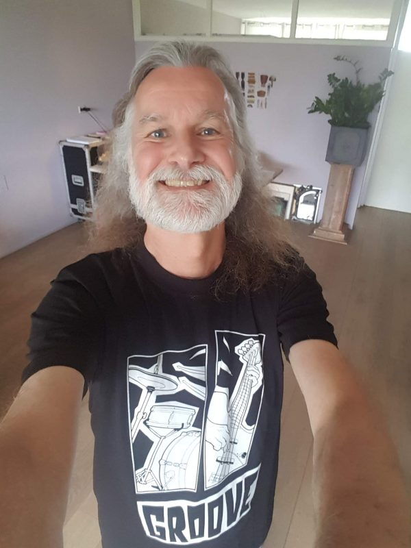 Gert with Groove t-shirt